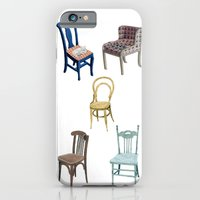 Chairs Number 2 iPhone 6 Slim Case