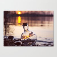 Fire Inside  Canvas Print