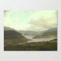 Alpine Ranges - Australi… Canvas Print
