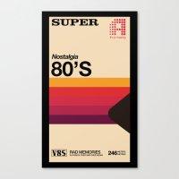 Super Tape Canvas Print