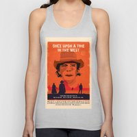 Once Upon A Time In The West Poster: Harmonica Unisex Tank Top