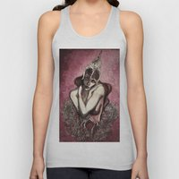 Half squid story Unisex Tank Top