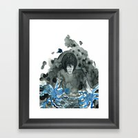Time To Run Framed Art Print