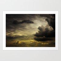 Gloomy Sky 0002 Art Print