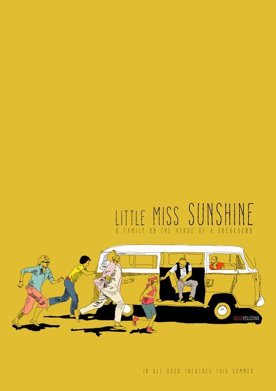 little miss sunshine art print by la belette rose society6. Black Bedroom Furniture Sets. Home Design Ideas