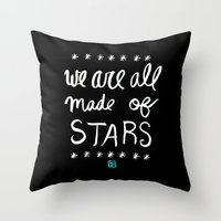 Made of Stars Throw Pillow