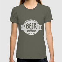 Beer Womens Fitted Tee Lieutenant SMALL