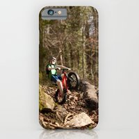 iPhone & iPod Case featuring Where we're going we don't need roads by Tom Canty Illustration
