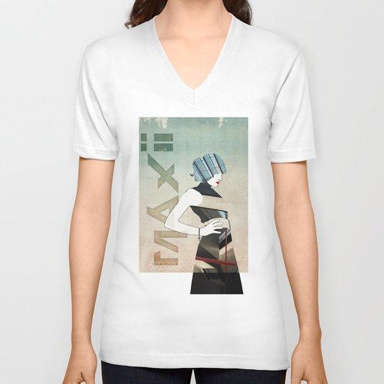 Maxii Girl V-neck T-shirt