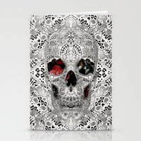 Lace Skull Light Stationery Cards