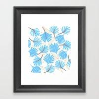 Palm Leaf Framed Art Print