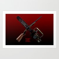 Come Get Some (bloody) Art Print