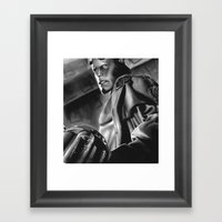 Hell Boy Framed Art Print