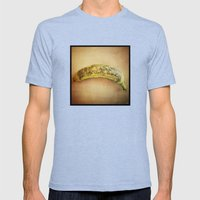 The Last Supper Mens Fitted Tee Tri-Blue SMALL