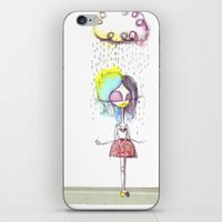 Rain on me... iPhone & iPod Skin