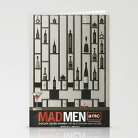 MADMEN Stationery Cards