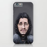 iPhone & iPod Case featuring Celebrity Sunday ~ Kit Harington by Rob Snow