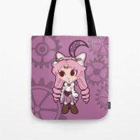 Steampunk Chibimoon - Sa… Tote Bag