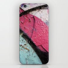 Pink Curve iPhone & iPod Skin
