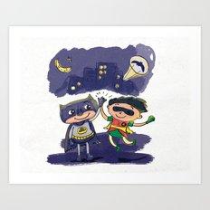 Friends!!! Art Print