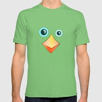 BIRDY Mens Fitted Tee Grass SMALL