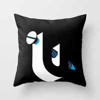 Screw-U! Throw Pillow
