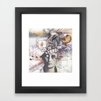 The Infinite Push Framed Art Print