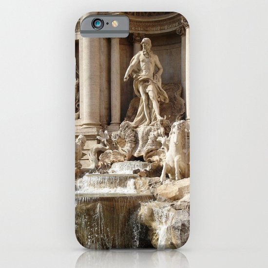Rome, Italy. Trevi Fountain. iPhone & iPod Case