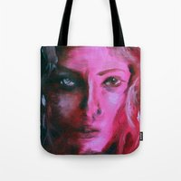 THE PINK QUICK PORTRAIT Tote Bag