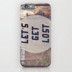 Let's Get Lost iPhone 6s Slim Case