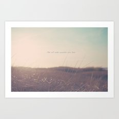Summer Not All Who Wander Are Lost  Art Print