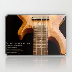 Music is a Moral Law Laptop & iPad Skin