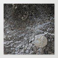 Rugged terrain Canvas Print