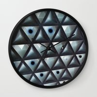 Triangle Gallery Wall Clock