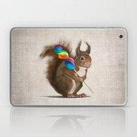 A Funny Squirrel With A … Laptop & iPad Skin