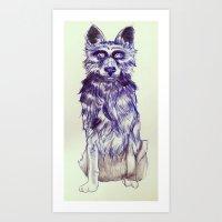 Empty Eyes Art Print