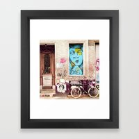 STREETART BERLIN by Jay Hops Framed Art Print