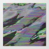 84-03-22 (Cloud Glitch) Canvas Print