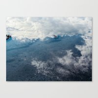 Reflected Sky Canvas Print