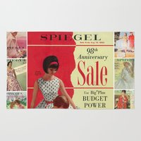 1963 - 98th Anniversary Sale -  Summer Catalog Cover Rug