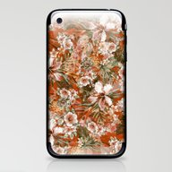Tropical Orange iPhone & iPod Skin
