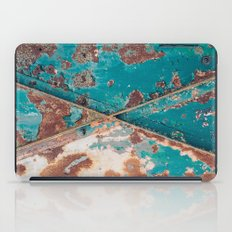 Teal and Rust iPad Case