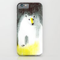 polar bear iPhone & iPod Cases featuring Polar Bear by Linette No