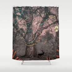 The party... Shower Curtain