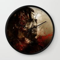 Blood Of The Dogs Wall Clock