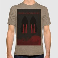 Christian Louboutin Aesthetic Mens Fitted Tee Tri-Coffee SMALL