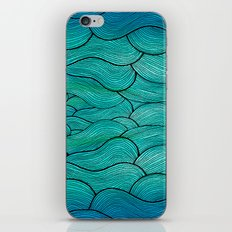 Sea Waves iPhone & iPod Skin