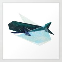Ira Whale Art Print