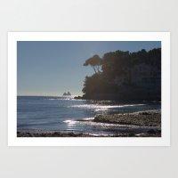Seascape Witn Secrets 72… Art Print