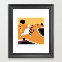 Fumador Inconsciente Framed Art Print